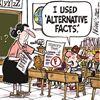 Today's cartoon: Alternative facts